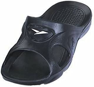 ICS Gear One Men's Rubber Slide Sandal Slipper Comfortable Shower Beach Shoe Slip on Flip Flop