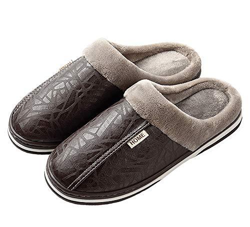 Zapatillas de Estar por casa para Mujer Impermeables de PU P