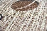 Teppich Modern Flachgewebe Gel Läufer Küchenteppich Küchenläufer Braun Beige Schwarz mit Schriftzug Coffee Cappuccino Espresso Latte Größe 80×150 cm - 6