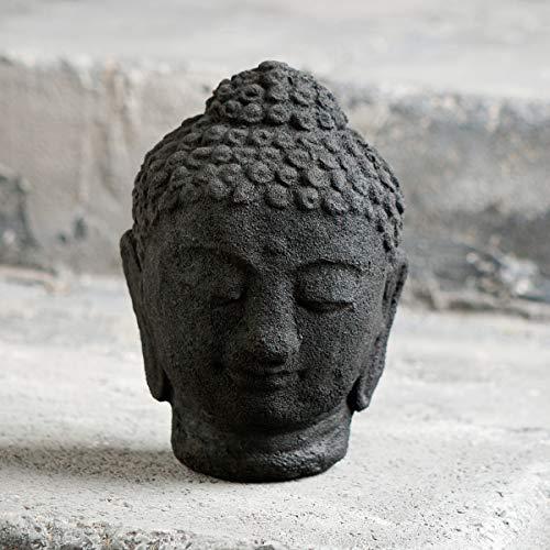 Buddha Head Statue Figurine Meditating Zen Garden Asian Garden Oriental Bodhisattva Enlightenment Sculpture Perfect Gorgeous Unique Gift Ideas