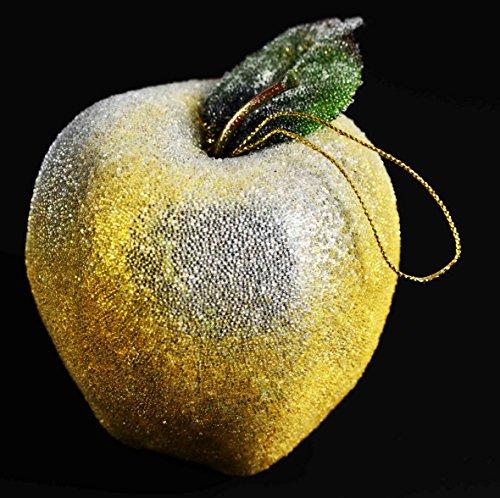 De colour dorado de tamaño pequeño de oro de la manzana de...