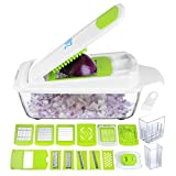 Vegetable Chopper Pro Onion Chopper - Mandoline Slicer Dicer Cutter &...