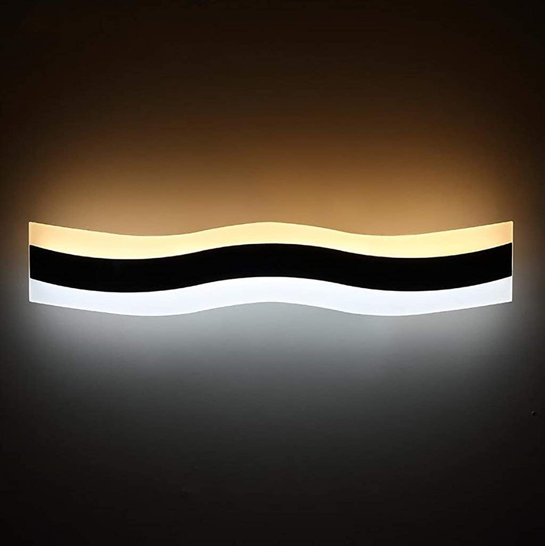 Bad-Beleuchtung Spiegel-vorderes helles einfaches kreatives Badezimmer-Spiegel-Scheinwerfer LED-Aufbereiter-Spiegel-Spiegel-Kabinett-Lichter Spiegelfrontlicht (gre   40 cm)