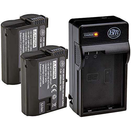BM Premium 2 Pack of EN-EL15C High Capacity...