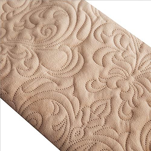DUYH Manta de Lana de Cristal Espesa Manta de Franela de Color Sólido Mantas de Sofá , Manta de Siesta de Oficina, Manta de Aire Acondicionado (Amarillo Oscuro, 150x200 cm)