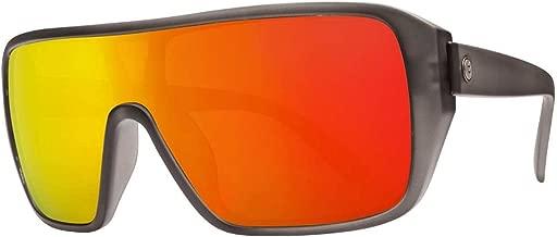 Electric Visual Blast Shield Matte Smoke/OHM Grey Fire Chrome Sunglasses