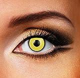 Funky Vision Contacto lente–3mes lente, Mad Hatter, sin Prescripción, 1pieza
