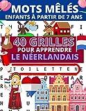 Mots mêlés enfants: 40 grilles de mots mêlés illustrés pour apprendre ou réviser le...