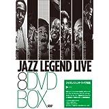 JAZZ LEGEND LIVE 8DVD BOX
