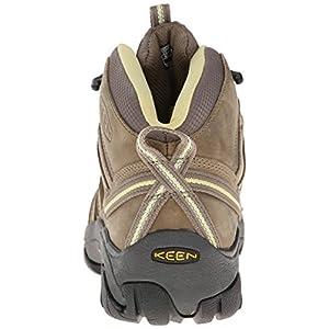 KEEN Women's Voyageur Mid Hiking Boot, Brindle/Custard, 7.5 B - Medium