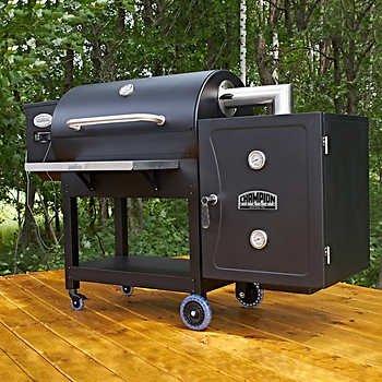 Louisiana Grills Backyard Pro with Smokebox...