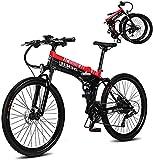 CASTOR Bicicleta electrica 26'Bicicletas eléctricas eléctricas Bicicletas de montaña 400W Bicicletas eléctricas...