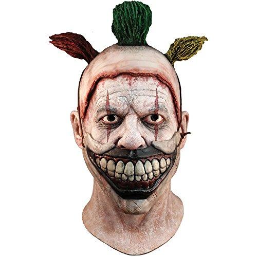 Unbekannt Générique mahal702–Vollmaske Latex Erwachsene–Twisty der Clown–Abnehmbarer–Einheitsgröße