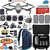 DJI Mavic 2 Pro Drone Quadcopter with Fly More Combo, Waterproof Hard Case and Backpack, Hasselblad Camera, 3 Batteries, ND Filters, Tablet Mount, 128GB SD Card, Landing Pad, VR Goggles Bundle K