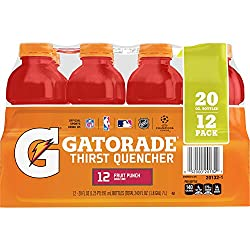 gatorade thirst quencher, fruit punch