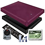 Free Flow WATERBED Mattress/Liner/Heater/PAD/Fill Drain/Conditioner KIT