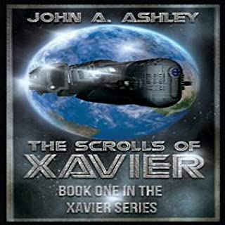 The Scrolls of Xavier audiobook cover art