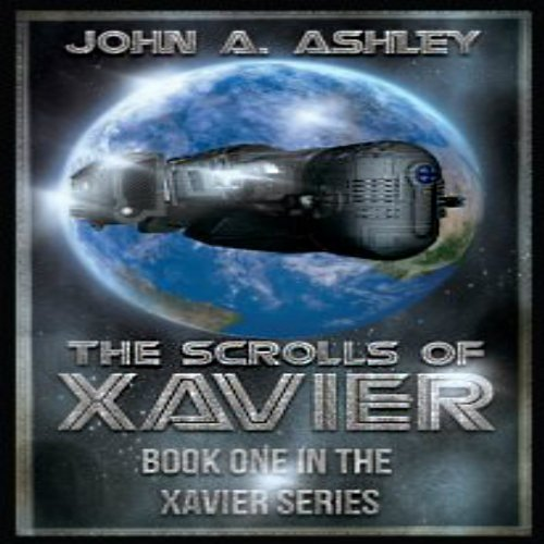 The Scrolls of Xavier audiobook cover art