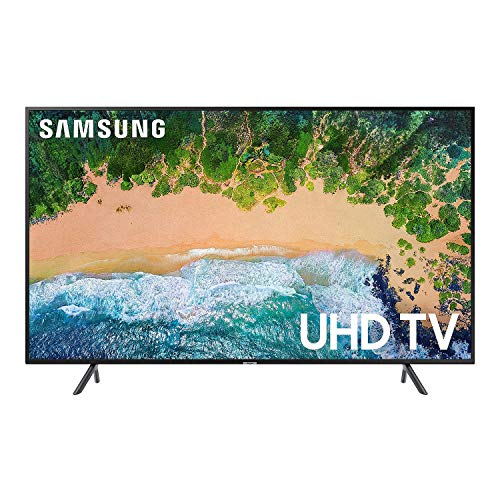 Samsung Smart TV 50″ 4K UHD UN50NU710DFXZA (Renewed)