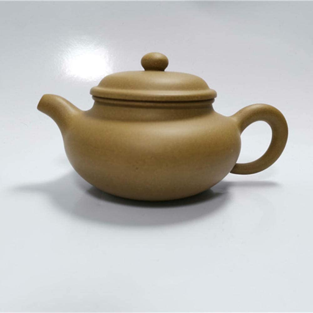 Spring new work Purple Clay Teapot Yixing Zisha Tea Ore Raw Pot Mud Handm 4 years warranty