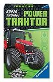 Ravensburger Gioco di carte per bambini 20689 – Gioco di carte Supertrumpf Power Traktor, Quartetto e Trumpf, per i fan della tecnica a partire dai 7 anni