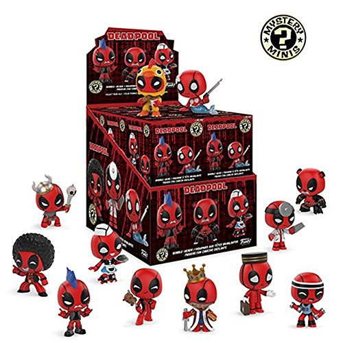 Funko Marvel Deadpool Playtime Mystery Minis, Case of 12 image