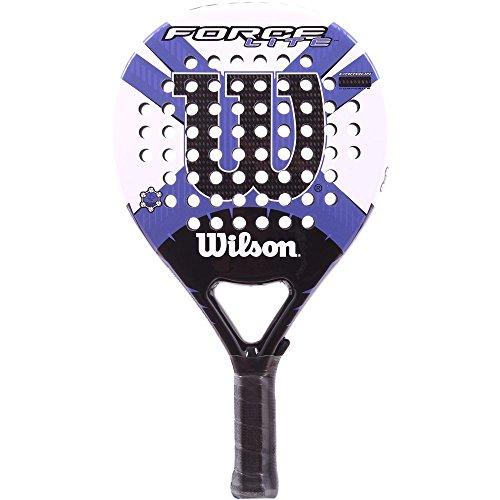 Wilson Force Lite - Raqueta, Color Blanco/Morado, Talla NS