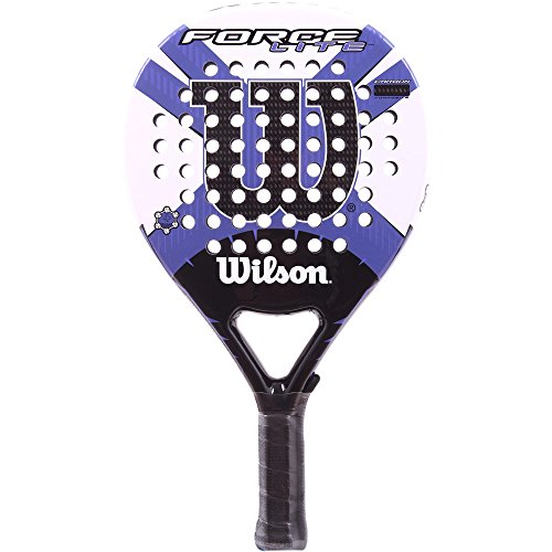 Wilson Force Lite - Raqueta, Color Blanco/Morado, Talla NS
