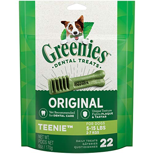 Greenies Original Teenie Natural Dental Dog Treats