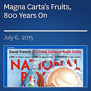 Couverture de Magna Carta's Fruits, 800 Years On