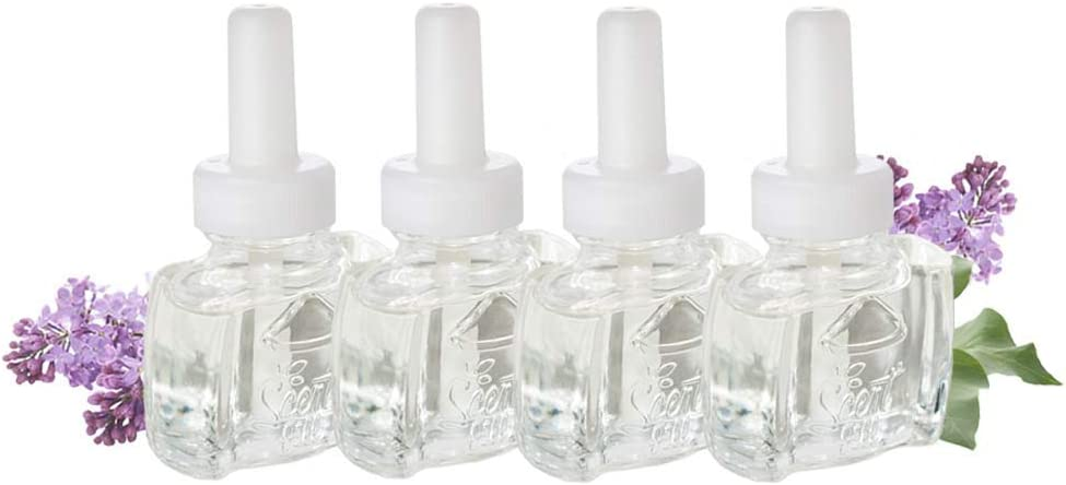Max 43% OFF Cheap super special price 4 Pack Scent Fill® Refills Lilac in Oil Blossoms Plug Scented