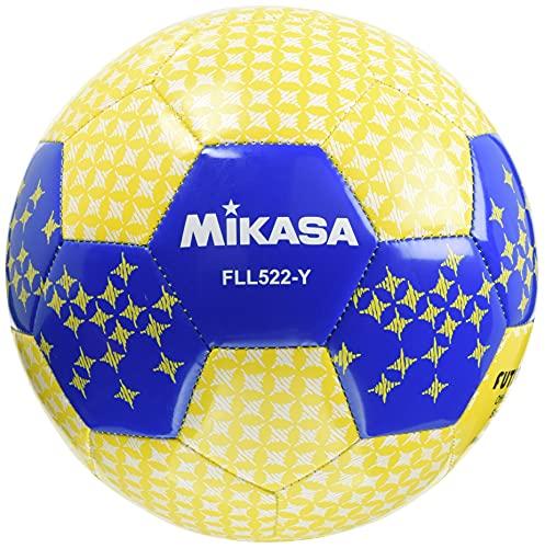 ミカサ(MIKASA) フットサル レジャー 5号 (一般・大学・高生・中学生用) イエロー 縫いボール FLL522-Y [並行輸入品] 推奨内圧0.40~0.60(kgf/?)