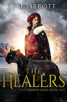 Book cover image for The Healers: The Pridden Saga: Book 2