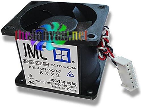 JMC 405038-12HB Deluxe Al sold out. 6 Pin Dual Blade Case U1 Se U2 Fan Rackmount for