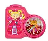 Baby Watch - Dring Princesse - Réveil Fille - Quartz Analogique - Cadran Multicolore