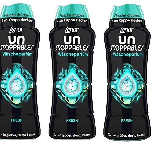 Lenor Unstoppables Wäscheparfüm Fresh, Set mit 3 Parfümflaschen für Leinen 3 x 510 g