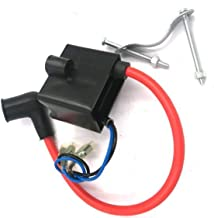 dolphin1986 CDI,Capacitor Discharge Ignition -Coil/Performance Electron Ignition Coil, 2 Stroke Gas Motorized Bicycle 48cc/66cc/80cc