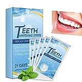 Zahnaufhellungsstreifen Professionelle Effekte Weißer Zahn Zahnaufhellungsband Bleichstreifen Home Bleaching Kit Für 21 Tage
