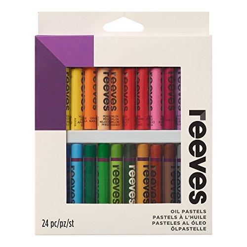 Reeves - Pasteles al óleo - Multicolor - Caja de 24