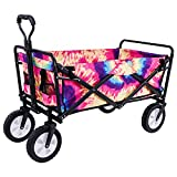 Best Folding Wagons - olyee Collapsible Outdoor Folding Wagon Cart, Heavy Duty Review