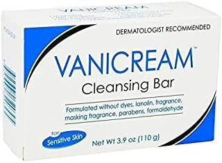 Vanicream Cleansing Bar 3.9 Oz (110 G) Pack of 2 by Vanicream