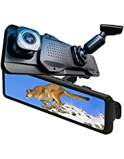 2021Ver 日本仕様 純正一体型 業界唯一 12インチ 音声案内告知機能搭載 ドライブレコーダー ミラー 前後カメラ MLC高耐久64GB-SDカード付属 右側カメラ搭載 2021年夏モデル 前後1080P SONYセンサー