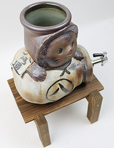 まるいち本店『信楽焼き焼酎サーバー狸福とっくり陶器サーバー』