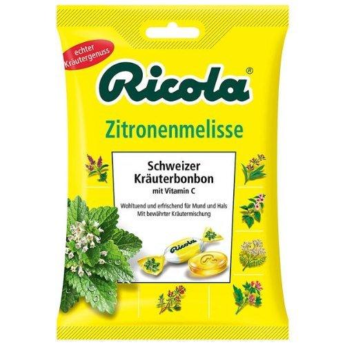 Ricola Melisa cytrynowa szwajcarskie cukierki ziołowe ilość: 75 g
