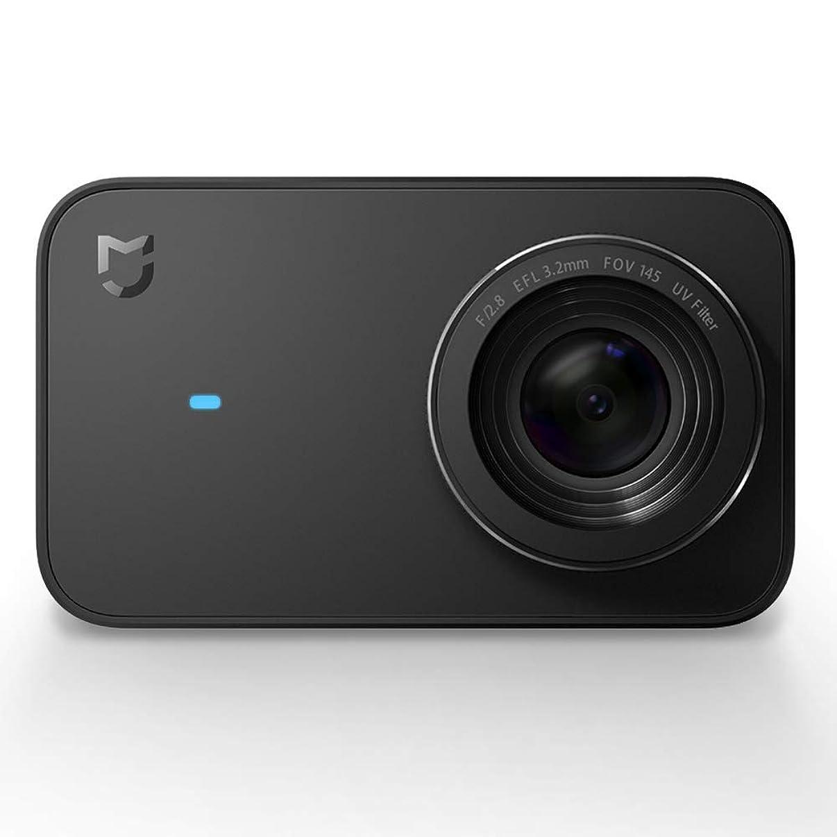 "MI Xiaomi 4K Action Camera, Mi Mijia 2.4"" Touchscreen WiFi IP67 Waterproof Sports Cam with Sony Image Senor, 145° Wide Angle 4K/30fps 1080P/100fps Video Raw Image"
