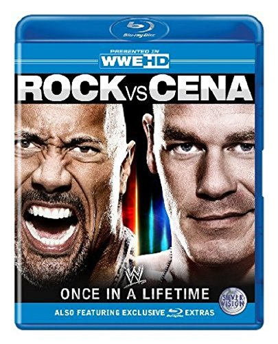 WWE - Rock vs Cena: Einmal im Leben [Blu-ray]