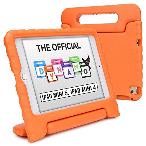 Cooper Dynamo [Custodia Rigida Cover] per iPad Mini 5 4   Case Tablet per Bambini Copertura Protettiva Supporto Maniglia Protezione (Arancio)