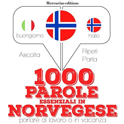 1000 parole essenziali in Norvegese audiobook cover art