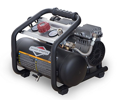 Briggs & Stratton 1.8-Gallon Quiet Power Technology Air Compressor 074026-00,Black