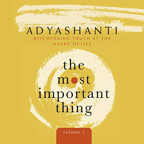 The Most Important Thing, Volume 1 audiobook cover art